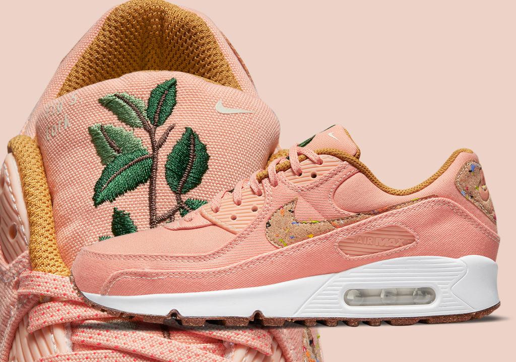 Pink/Roze Air Max 90 Cork