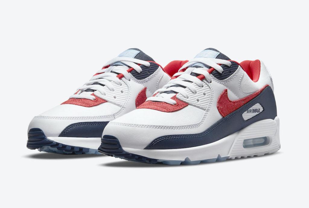 Nike Air Max 90 Patriotic Denim | DJ5170-100