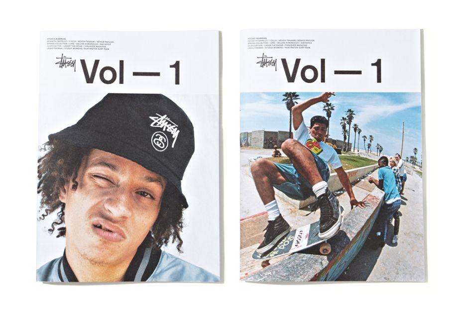 Stussy Magazine Vol 1 - Stussy ad
