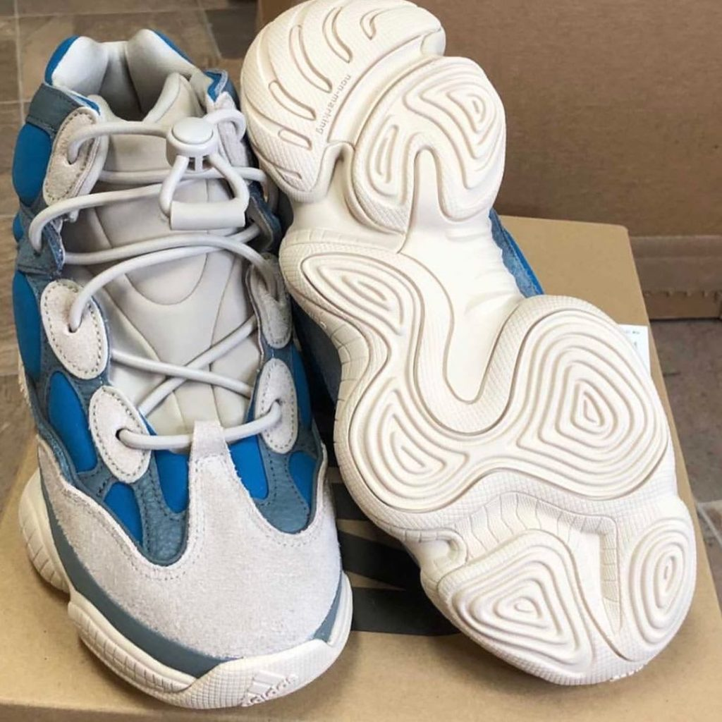 adidas Yeezy 500 high 'Frosted Blue' | GZ554