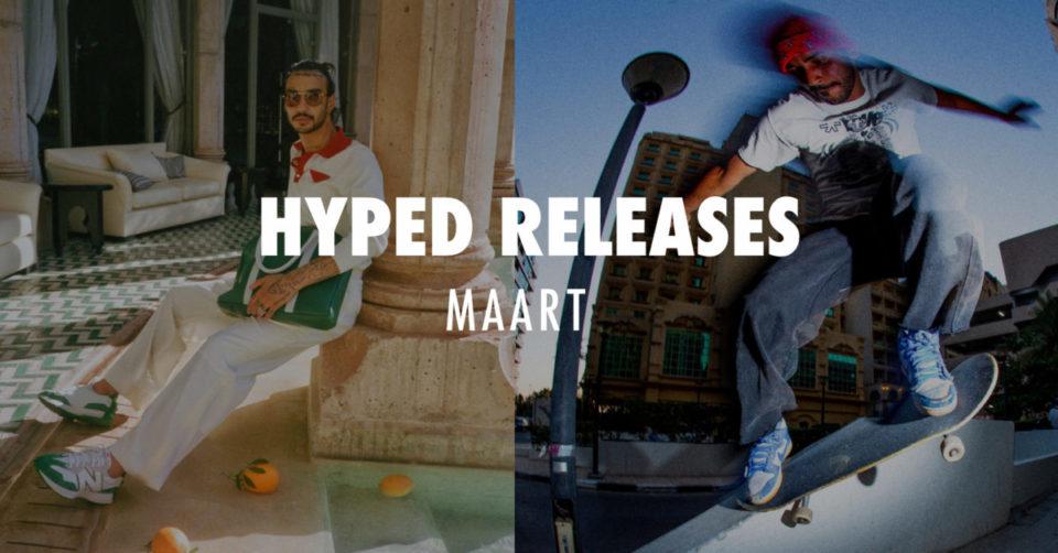 Hyped releases maart 2021 sneakerjagers
