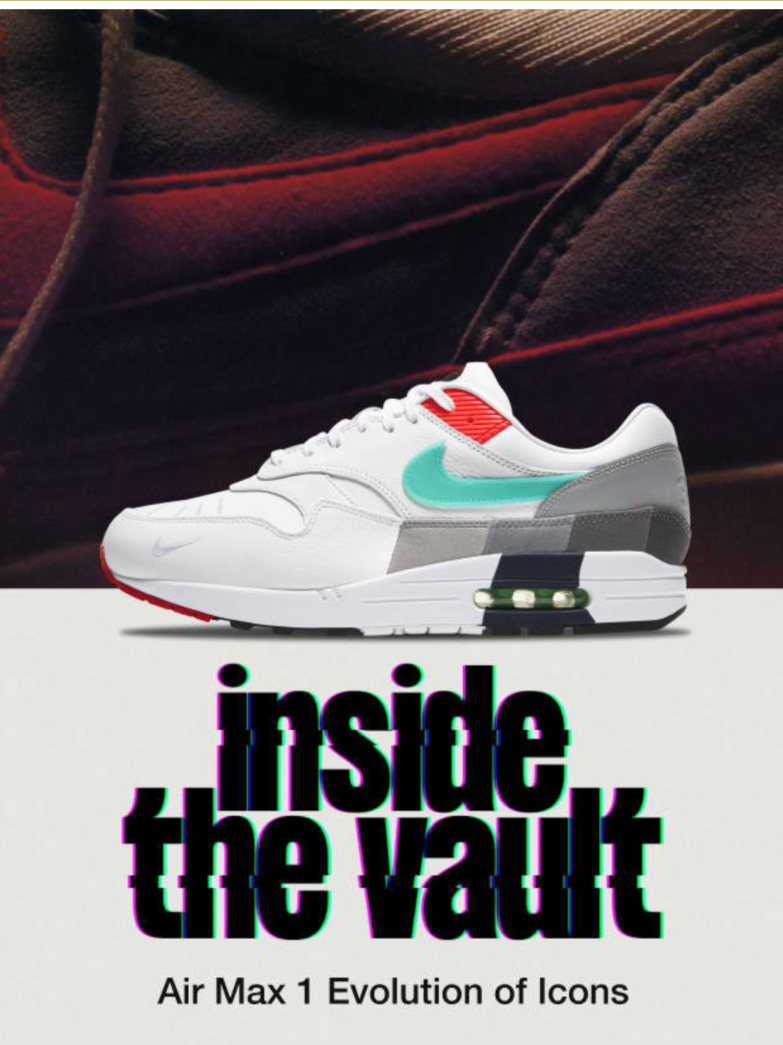 Nike Air Max 1 'Evolution of Icons'