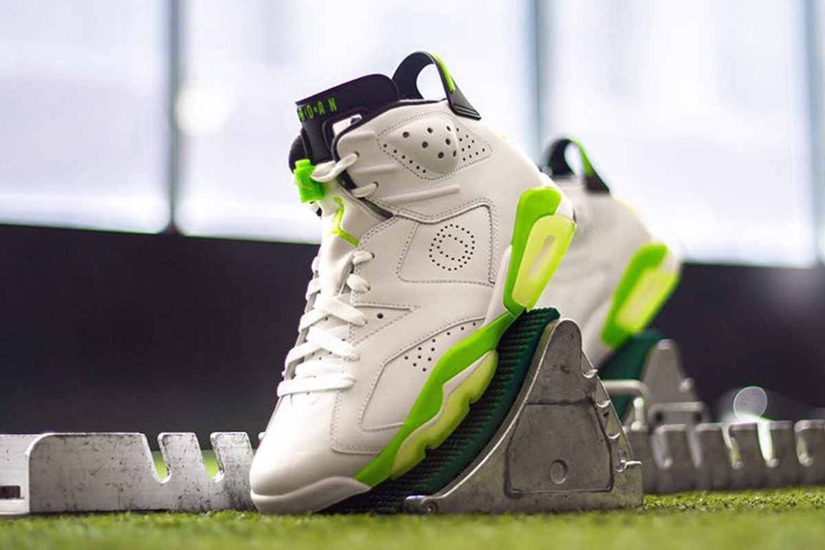 Air Jordan 6 Oregon PE