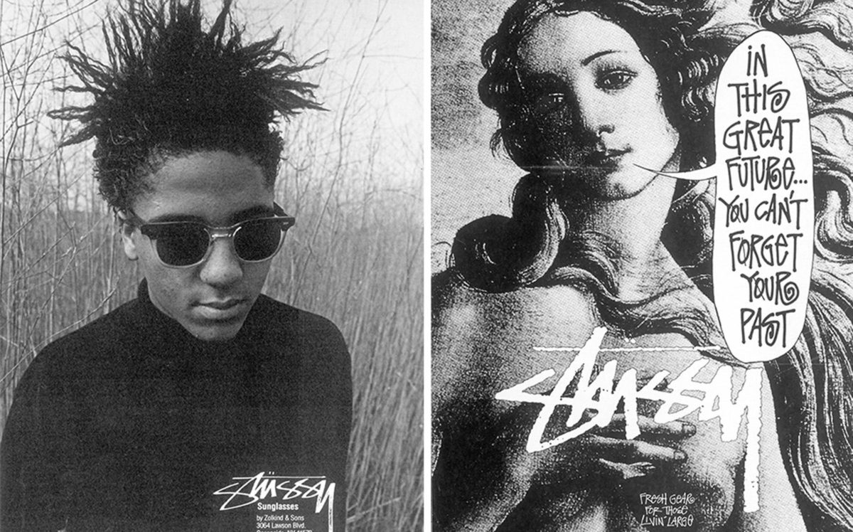 stussy punk - stussy 1984 - in this great future you can't forget your past - streetwear