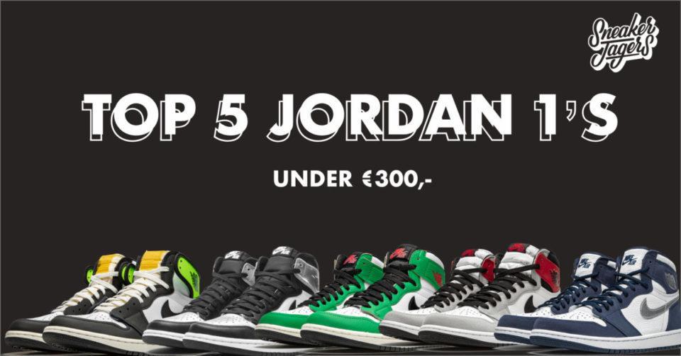 top 5 jordan 1's onder 300 euro@2x