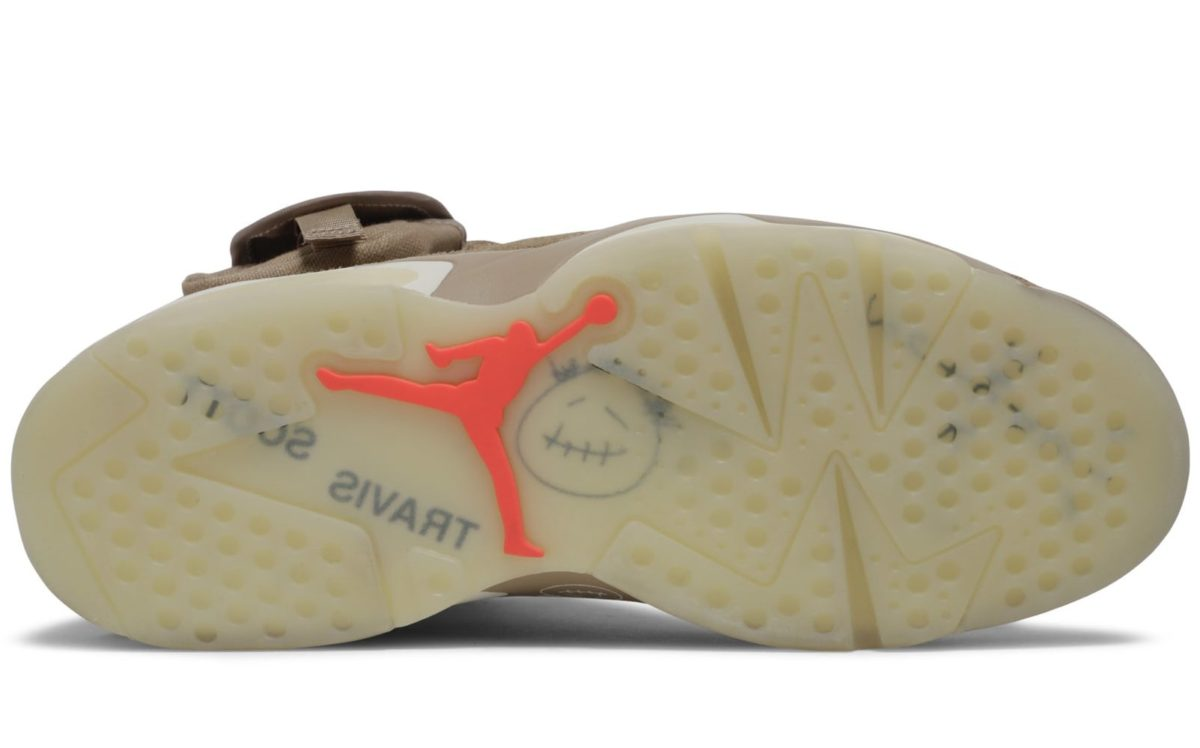 Air Jordan 6 Retro Travis Scott British Khaki   DH0690-200
