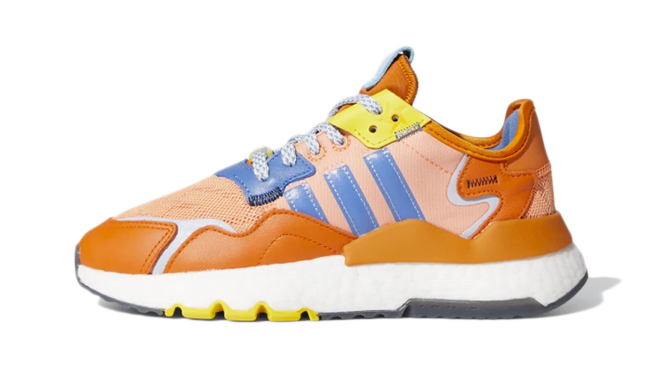 Ninja x adidas Nite Jogger Kids Orange - koningsdag
