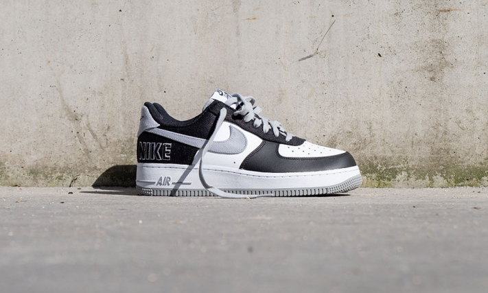 Nike Air Force 1 Black/Silver | CT2301-001