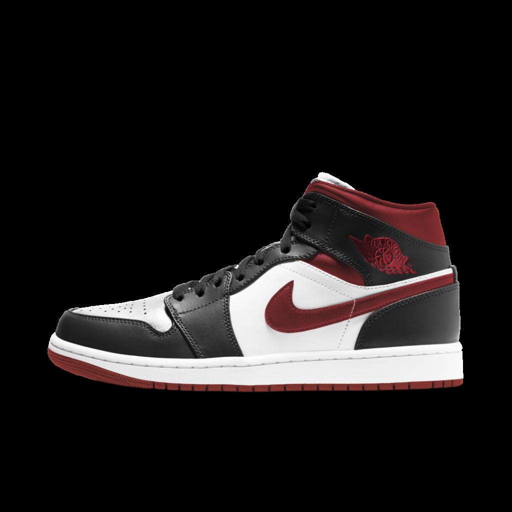 Air Jordan 1 Mid 'Metallic Red'