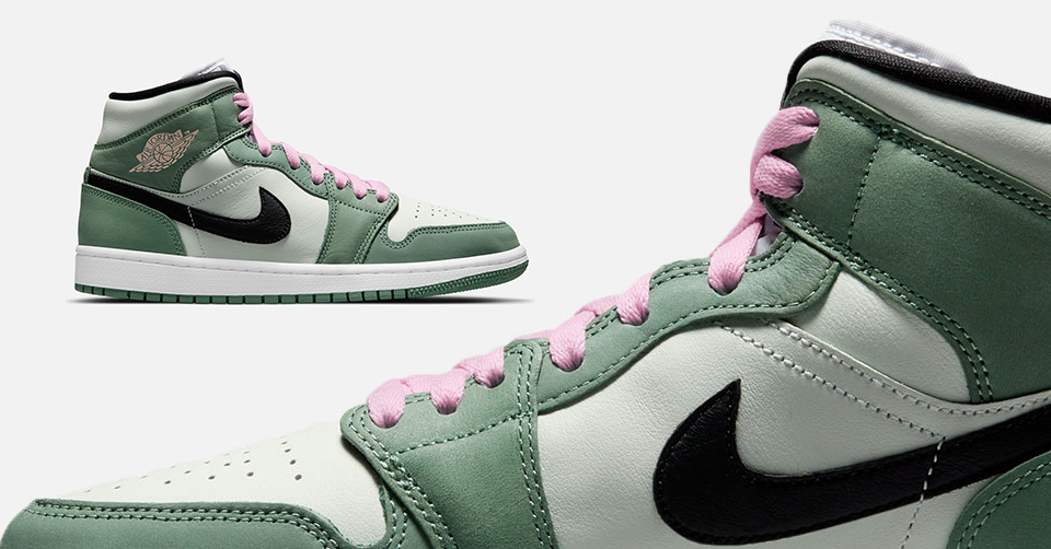 Air Jordan 1 Mid 'Dutch Green'