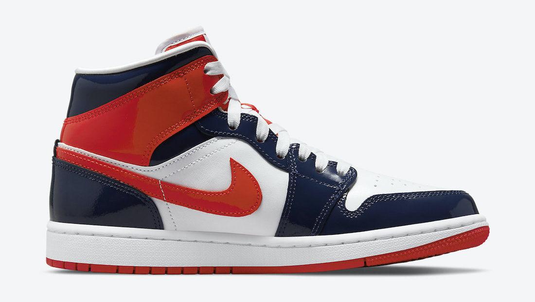 Air Jordan 1 Mid Patent