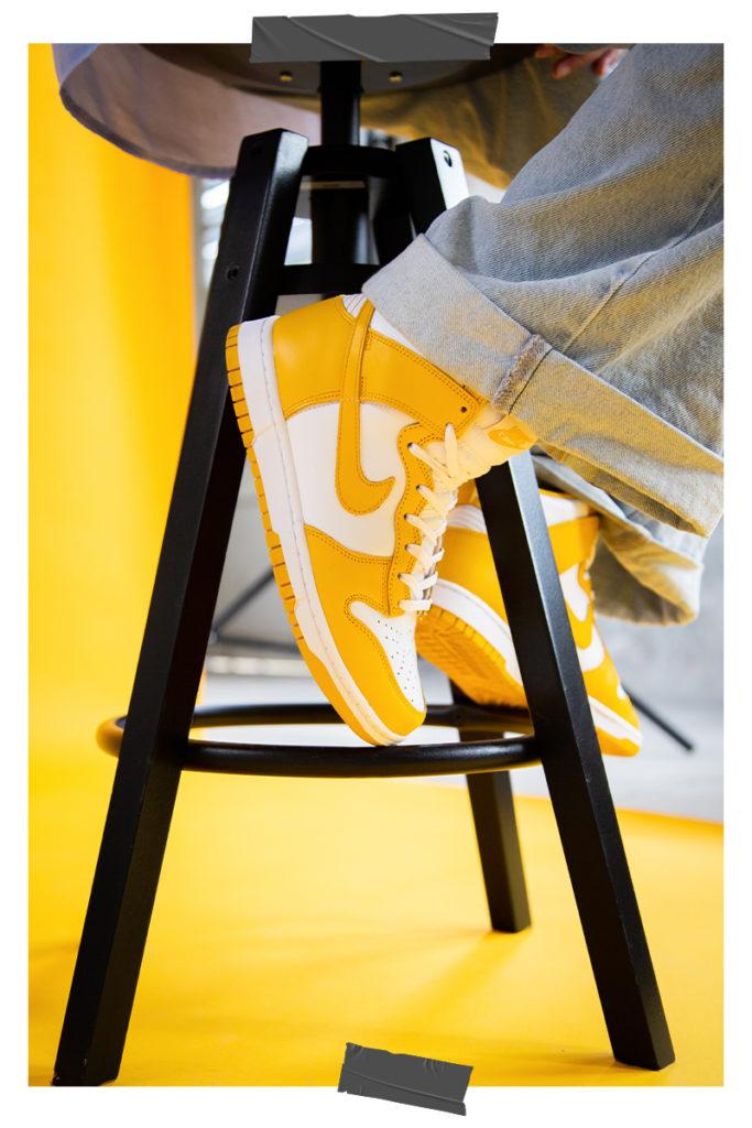 Nike WMNS Dunk High 'Dark Sulfur'