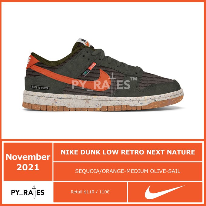 Nike Dunk Low Next Nature collection