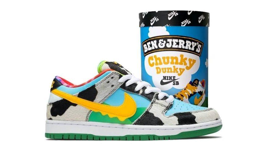 Nike SB Dunk Low Ben & Jerry's Chunky Dunky | CU3244-100