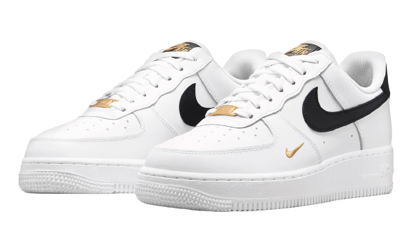 The Nike WMNS Air Force 1 07 Essential has gold details ...