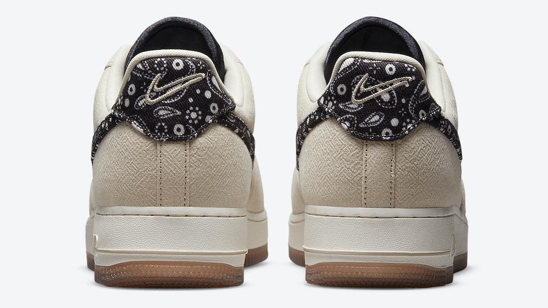 Nike Air Force 1 Paisley Swoosh DJ4631-200