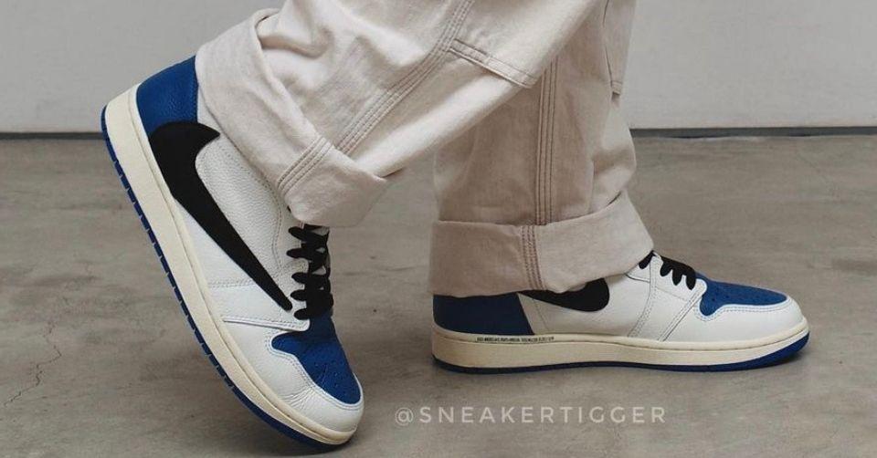 travis Scott x Air Jordan 1 x fragment