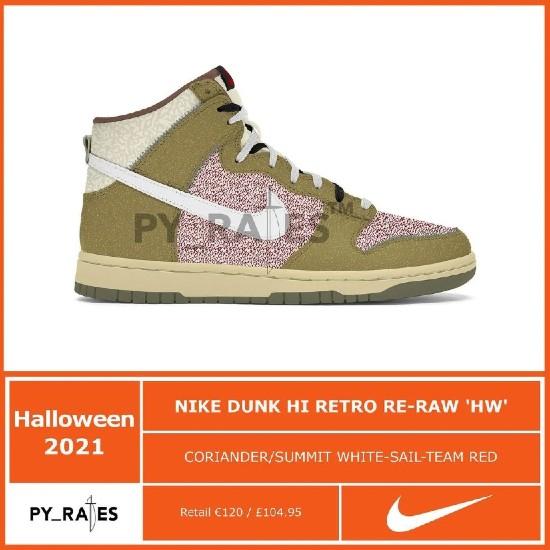 Nike Dunk High Retro Re-Raw 'Halloween'