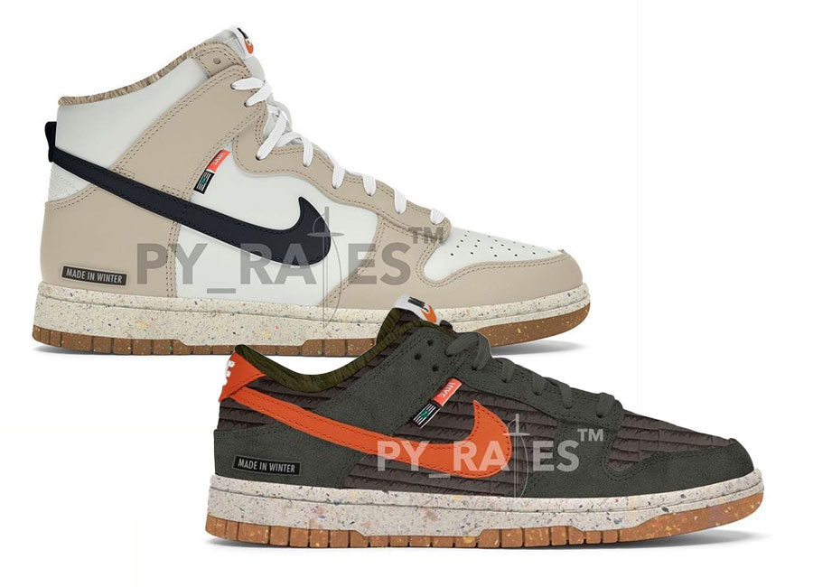 Nike Dunk Next Nature collection