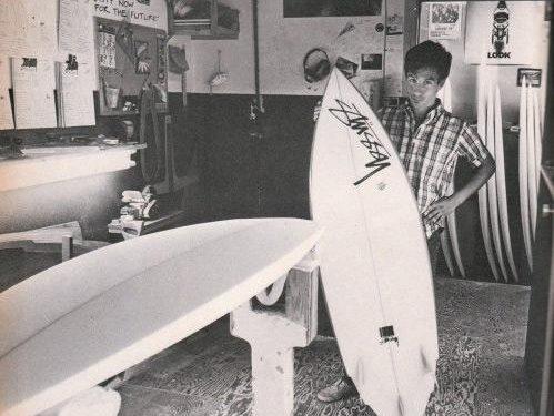 shawn stüssy - stussy -stussy surfboard
