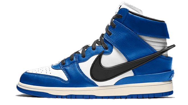 Ambush x Nike Dunk High Deep Royal Blue hottest sneaker releases