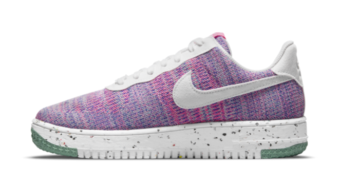 DC7273-500 Nike Air Force 1 Crater Flyknit Fuchsia Glow hottest sneaker releases