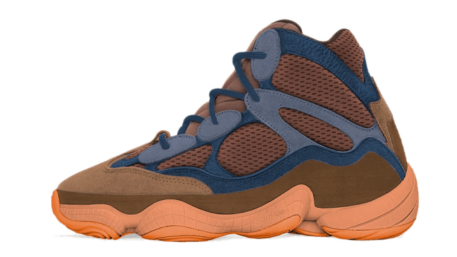 adidas Yeezy 500 High Tactile Orange hottest sneaker releases