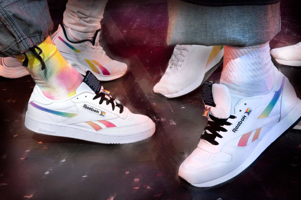 Reebok All Types of Love Pride-collectie 2021