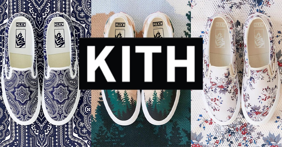 Kith onthult Vans Vault Slip-on collectie 🏝