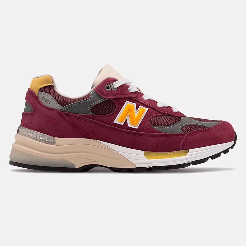 New Balance 992 Burgundy
