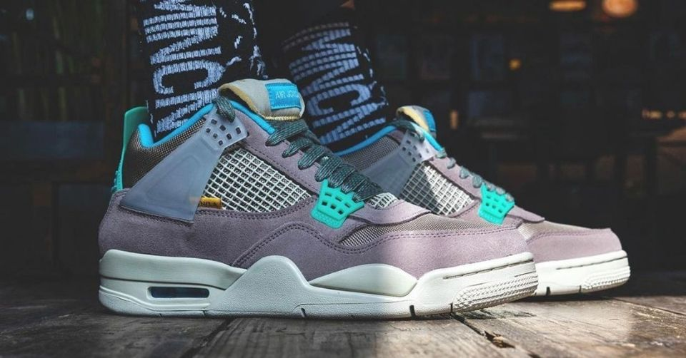Union La Air Jordan 4 Taupe Haze