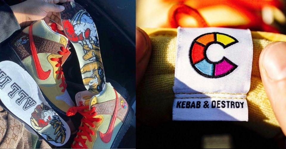 Nike SB Dunk High kebab and destroy