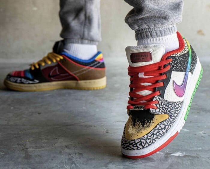 Nike-SB-Dunk-Low-What-The-P-Rod-CZ2239-600-Release-Date-On-Feet-9-700x564