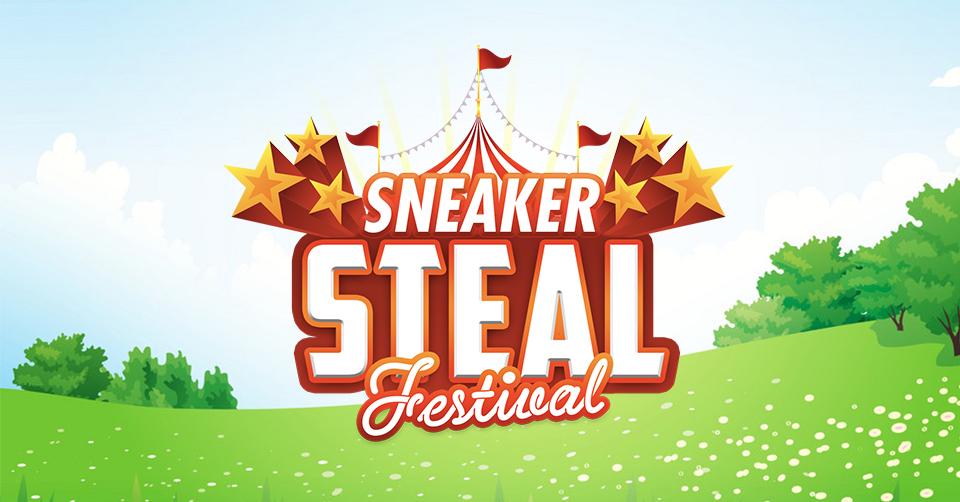 sneaker steal festival