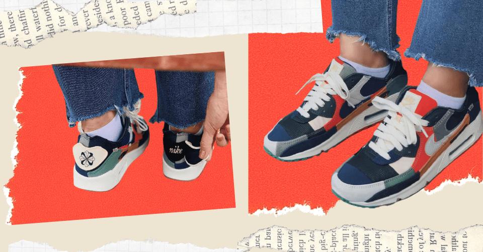 Bekijk de eerste beelden van de Nike Air Max 90 'Scrap'