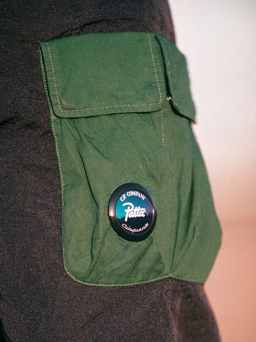Patta x C.P Company M.T.t.N. Tracksuit Pants (Total Eclipse)