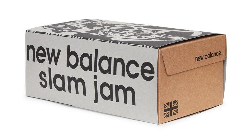 Slam Jam x New Balance 991 box