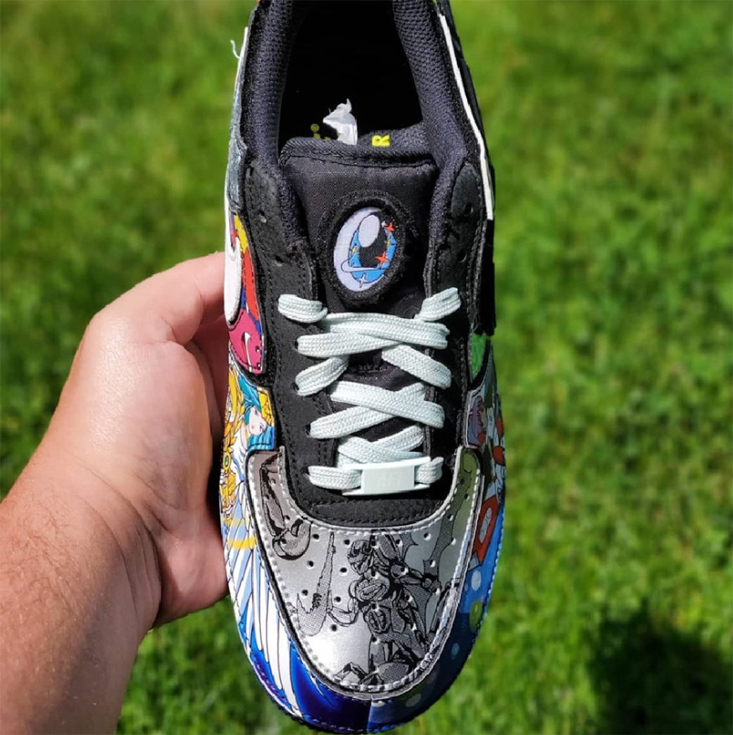 """Nike Air Force 1/1 """"Nike and the Mighty Swooshers"""""""