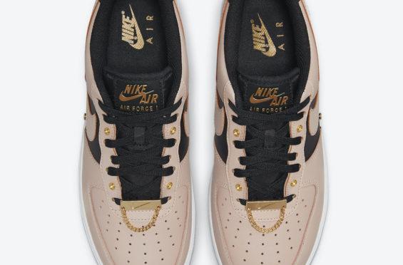 Nike Air Force 1 Low Pink Metallic Gold