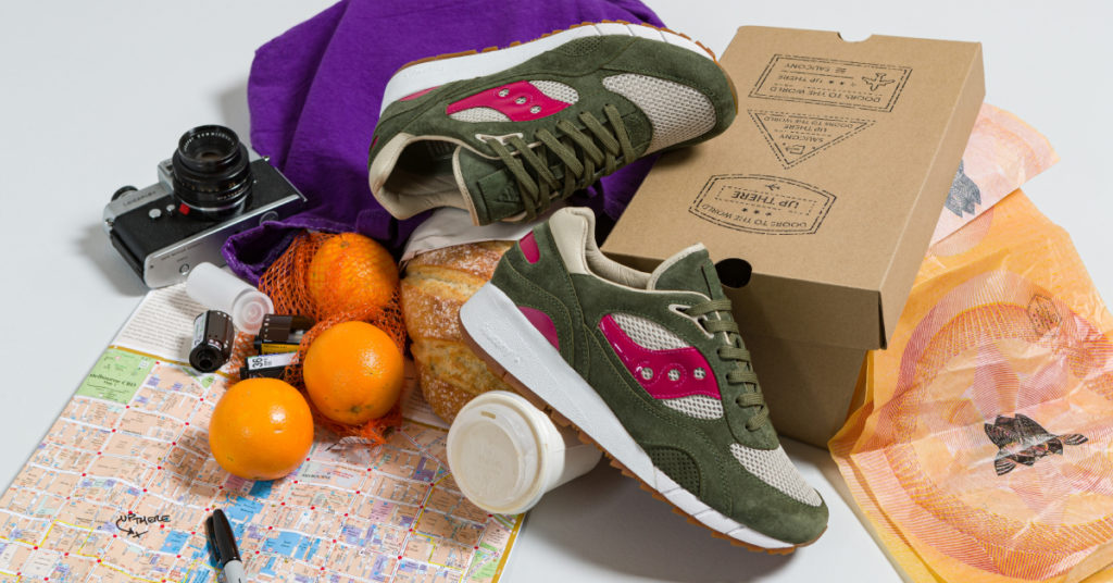 Up There Saucony 6000