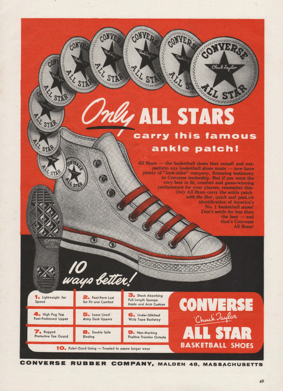 converse ad old