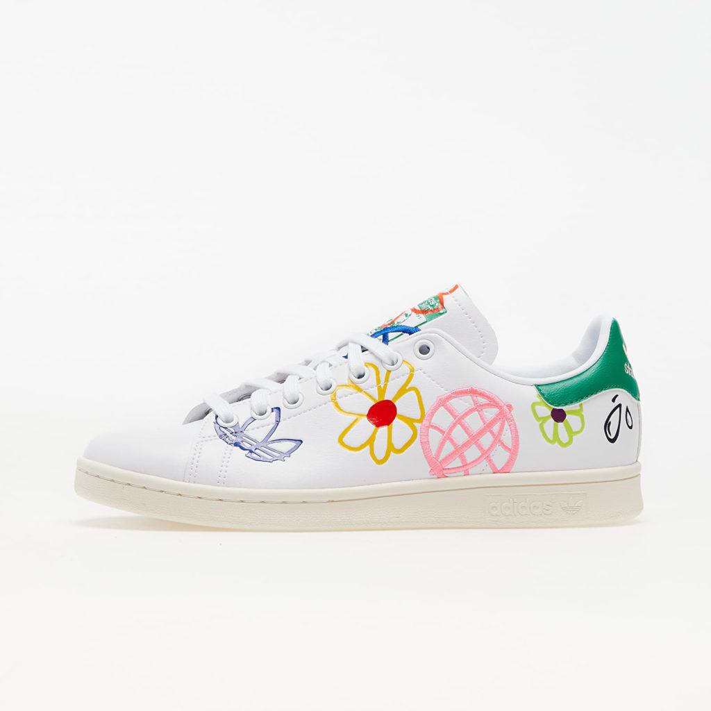 20% korting op adidas Stan Smith 'Primegreen Floral' bij Footshop