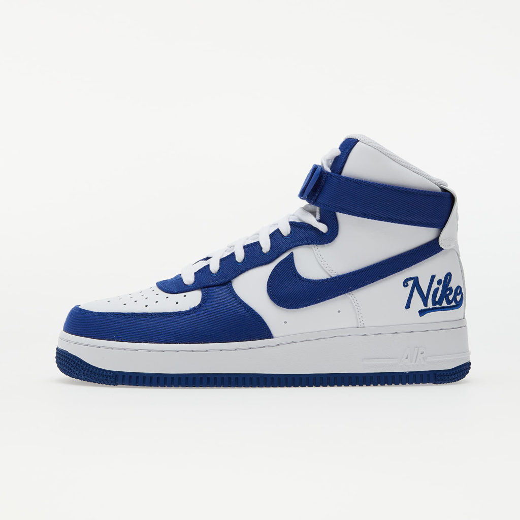 extra korting footshop Nike Air Force 1 High EMB 'Dodgers'   DC8168-100