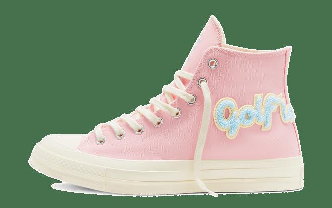 roze sneakers Golf Le Fleur x Converse Chuck 70 'Chenille'   167478C