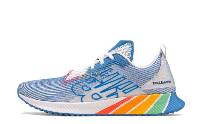 New Balance FuelCell Echo 'Pride'   MFCELPR blauwe sneakers