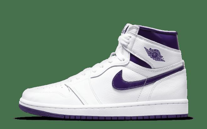 paarse sneakers Air Jordan 1 High 'Court Purple'   CD0461-151