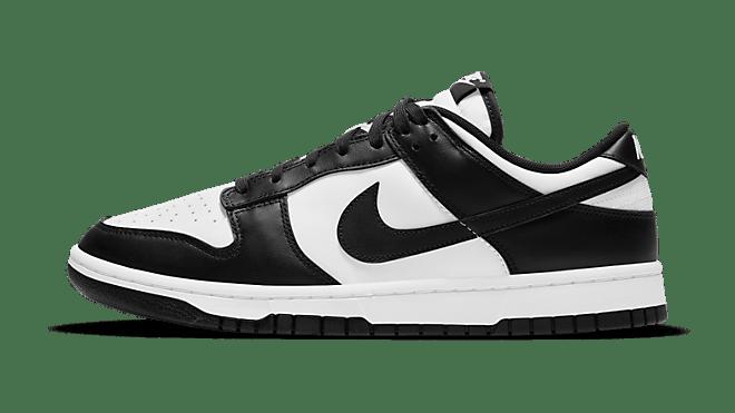 Nike Dunk Low 'Black/White' family sizing