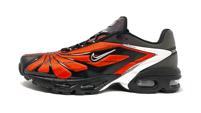 Skepta x Nike Air Max Tailwind 5 'Bloody Chrome' Hottest Sneaker Releases