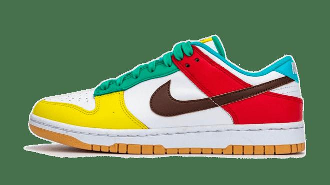 DH0952-100 Nike Dunk Low Free 99 Pride top vijf