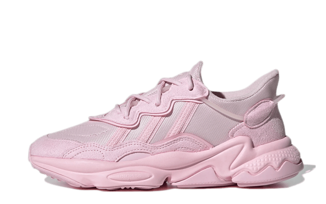 roze sneakers adidas Originals Ozweego 'Clear Pink'   FX6094